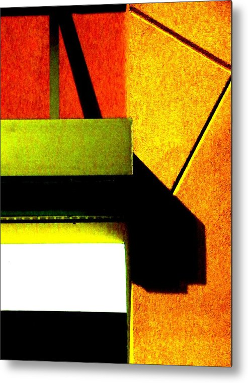 Abstract Metal Print featuring the photograph Lighting Opportunities by Clayton Odom