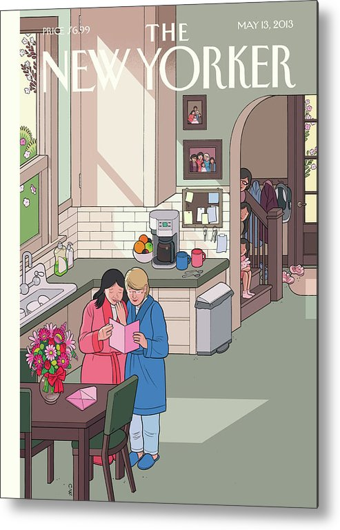 Women Metal Print featuring the painting Mothers' Day by Chris Ware