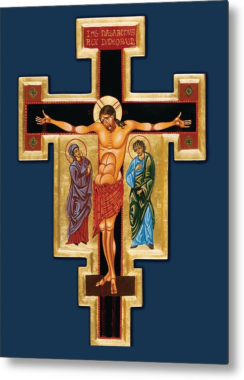 Icon Metal Print featuring the painting Santa Croce by Joseph Malham