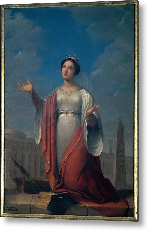 Catherine Metal Print featuring the photograph Schiavoni Natale, St Catherine, 1828 by Everett