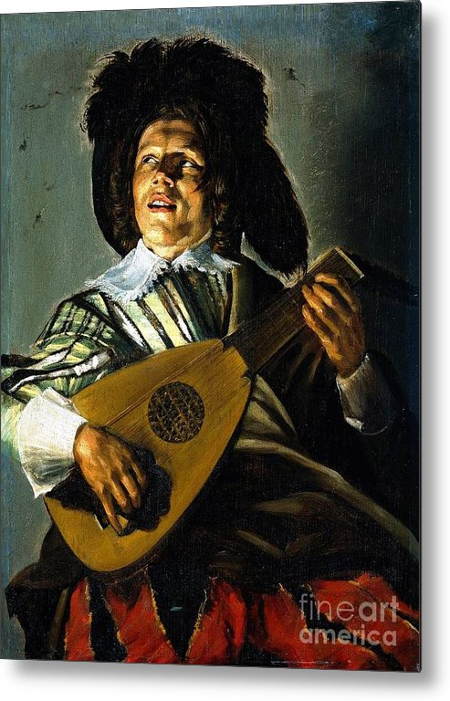 U.s.pd Metal Print featuring the painting Serenade by Pg Reproductions