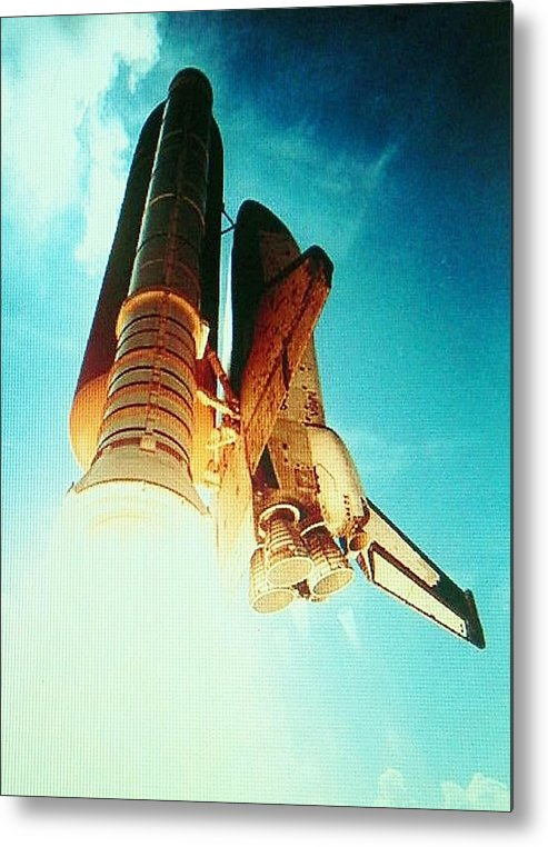 Metal Print featuring the photograph Take Off by Gunter Hortz