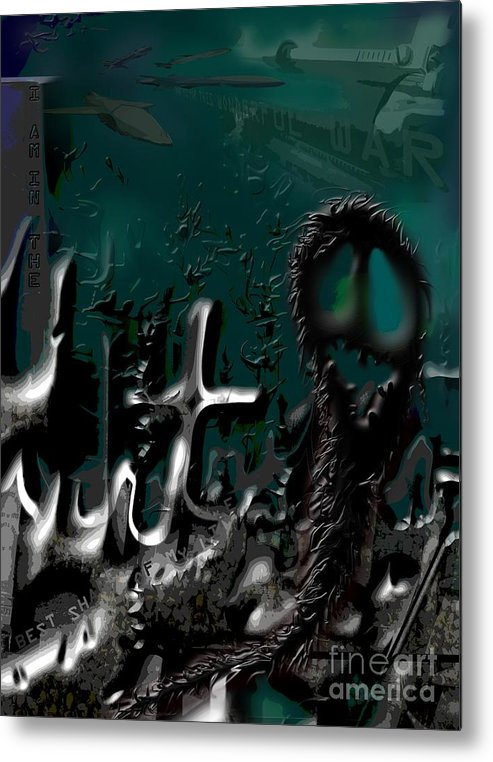War Metal Print featuring the digital art Thank You For This Wonderful War - I Am In The Best Shape Of My Life by Alisa Bogodarova