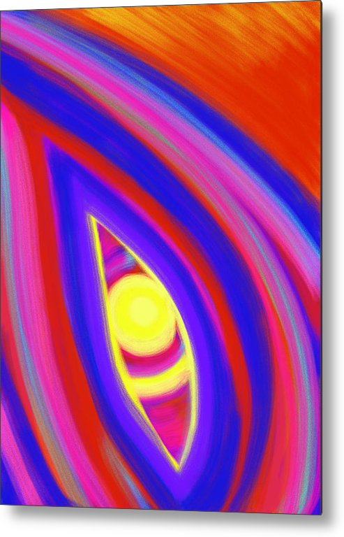 Horizon Metal Print featuring the painting The Horizon Of Osirus by Daina White