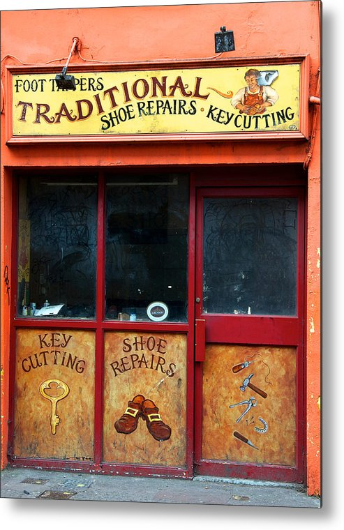 Shop Metal Print featuring the photograph Traditional Ireland by David Resnikoff