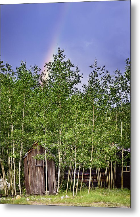 Colorado Metal Print featuring the photograph Pot Of Gold by Beth Riser