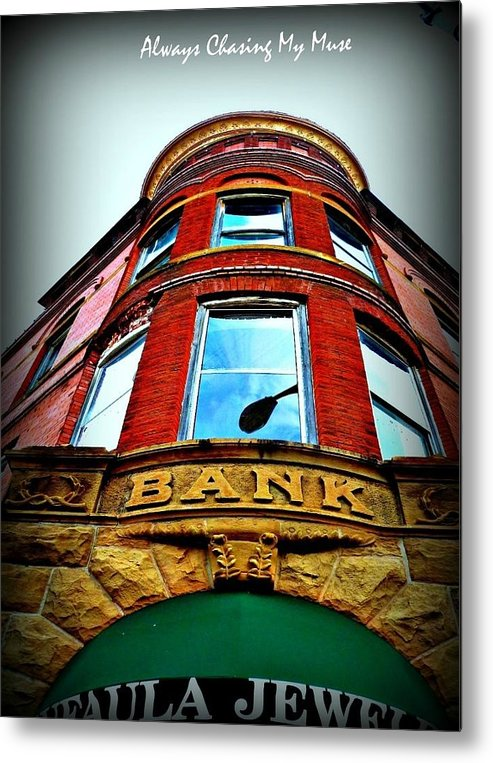 Reflections Metal Print featuring the photograph Reflected Vault by Jennifer Hamrick