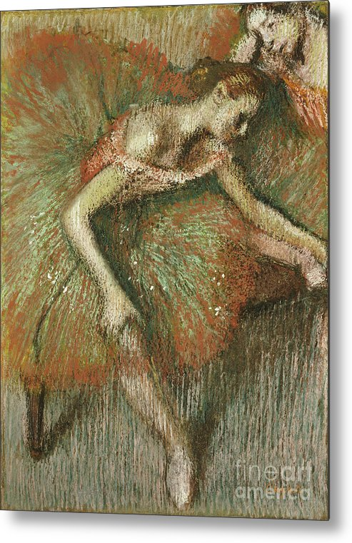 Dancers Metal Print featuring the painting Dancers by Edgar Degas