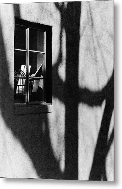 Alley Metal Print featuring the photograph Alley Shop Window by Jim Furrer