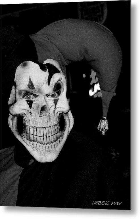 Scary Metal Print featuring the photograph Be Feared - Debbie-may - Photosbydm by Debbie May