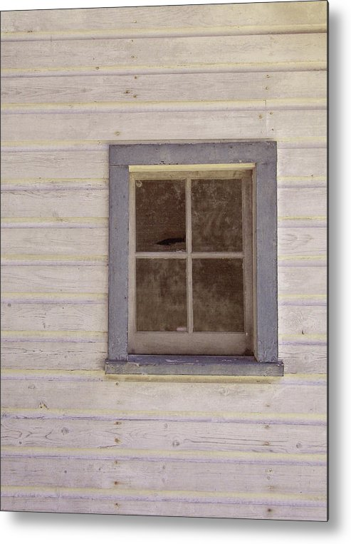 Window Metal Print featuring the photograph Blue Window by JAMART Photography