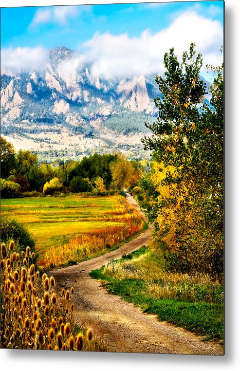 Americana Metal Print featuring the photograph Clearly Colorado by Marilyn Hunt