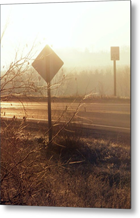 Corner Metal Print featuring the photograph Corner by Michelle Hoffmann