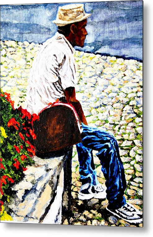 People Metal Print featuring the painting Ecce Homo by Thomas Akers