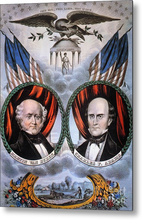 1848 Metal Print featuring the photograph Presidential Campaign, 1848 by Granger