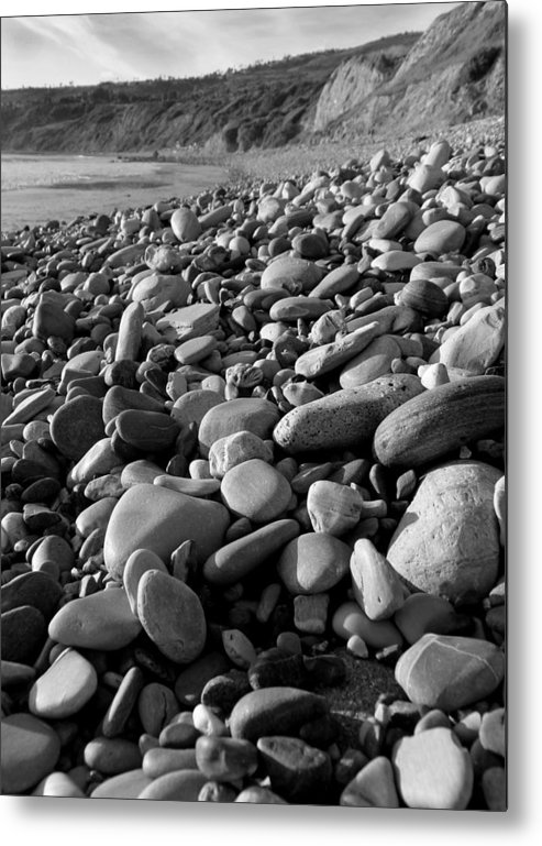 Rocks Metal Print featuring the photograph Rocky Beach by Karey and David Photography