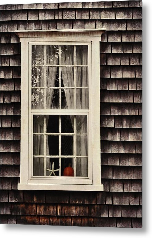Window Metal Print featuring the photograph Starfish Wish by JAMART Photography