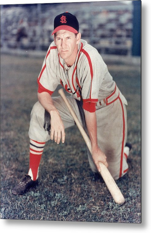 St. Louis Cardinals Metal Print featuring the photograph St. Louis Cardinals by Hulton Archive