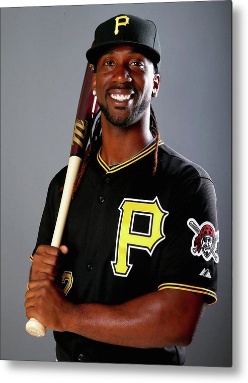 Media Day Metal Print featuring the photograph Andrew Mccutchen by Elsa