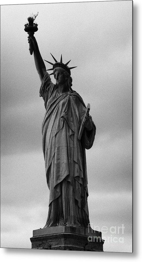 Usa Metal Print featuring the photograph Statue Of Liberty New York City Usa by Joe Fox