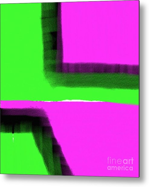 Art By James Eye Metal Print featuring the digital art Intigrated Confusion by James Eye