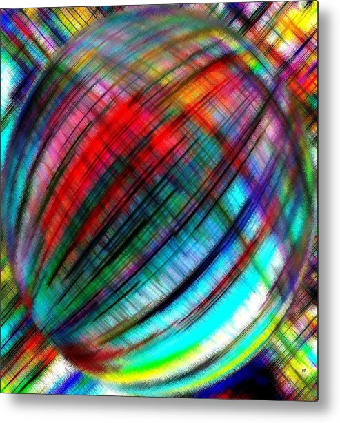 Micro Linear Metal Print featuring the digital art Micro Linear 31 by Will Borden