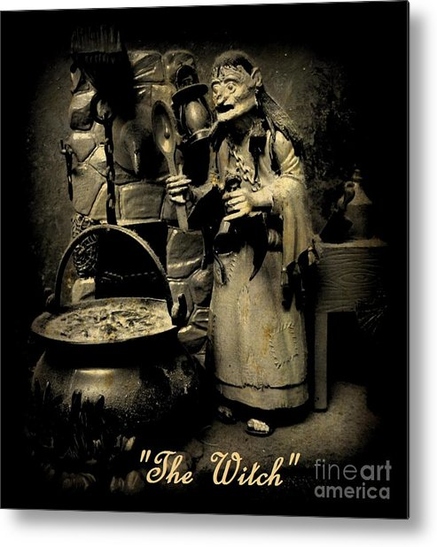 Nightmares Metal Print featuring the photograph The Witch by John Malone