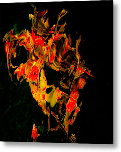 Song Metal Print featuring the photograph Song Bird by Chua ChinLeng