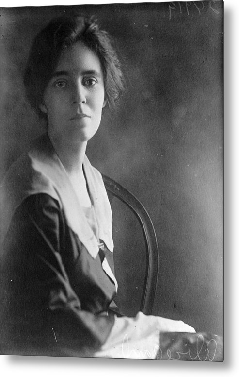 1918 Metal Print featuring the photograph Alice Paul by Granger