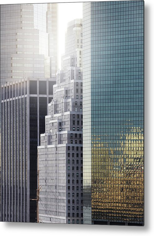 Tranquility Metal Print featuring the photograph New York by Henrik Sorensen