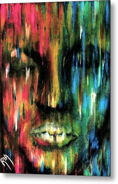 Colorful Metal Print featuring the photograph ColorBlind by Artist RiA