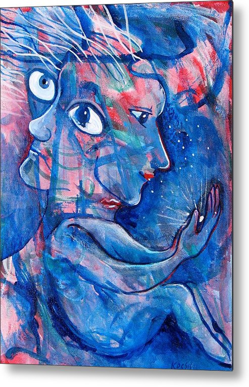 Magic Metal Print featuring the painting Enlightened by Rollin Kocsis