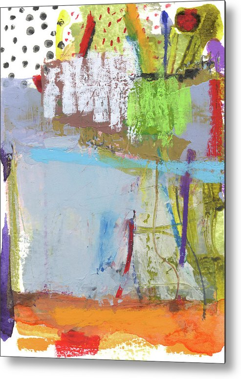 Abstract Metal Print featuring the mixed media Rcnpaintings.com by Chris N Rohrbach
