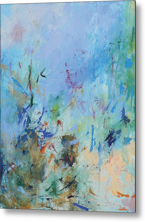 Copland Metal Print featuring the painting Appalachian Spring by Jacquie Gouveia