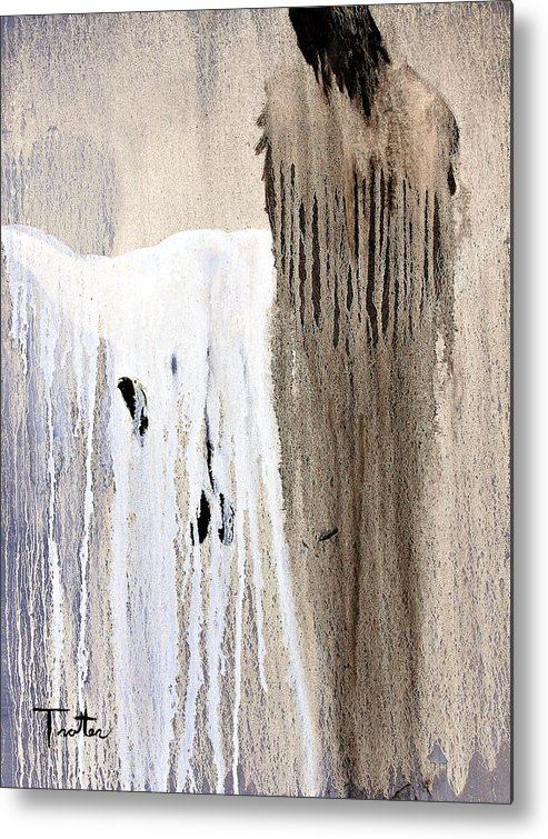 Native American Metal Print featuring the painting Great Spirit by Patrick Trotter