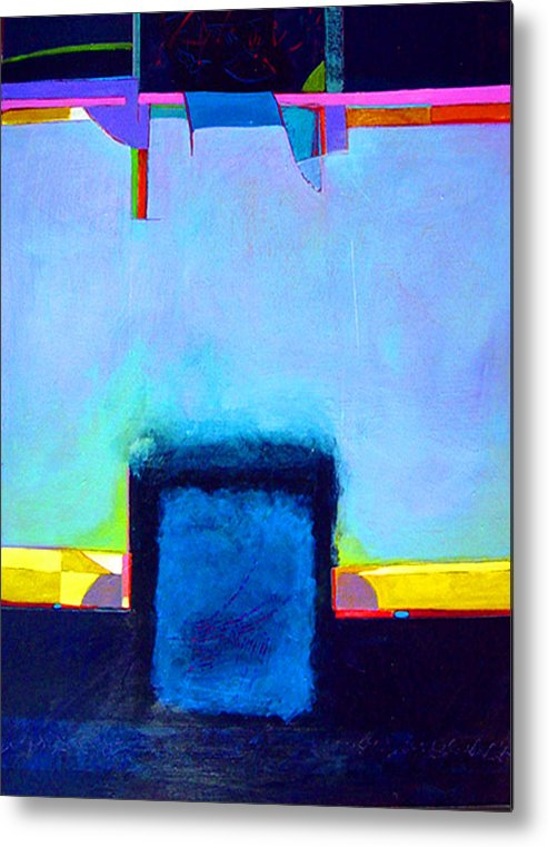 Metal Print featuring the painting Softened Boundaries by Dale Witherow