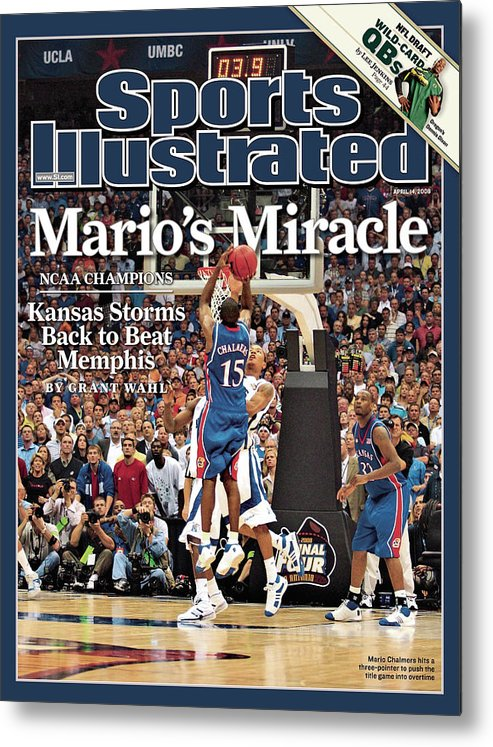 Magazine Cover Metal Print featuring the photograph April 14, 2008 Sports Illustrate Sports Illustrated Cover by Sports Illustrated