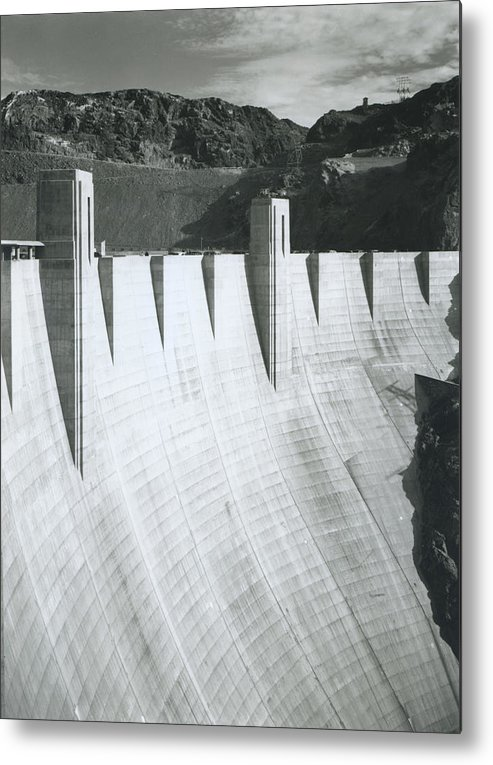 1940-1949 Metal Print featuring the photograph Boulder Dam Power Unit, 1941 by Archive Photos