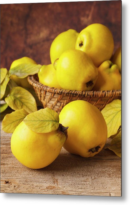 Quince Metal Print featuring the photograph Quinces by Syolacan