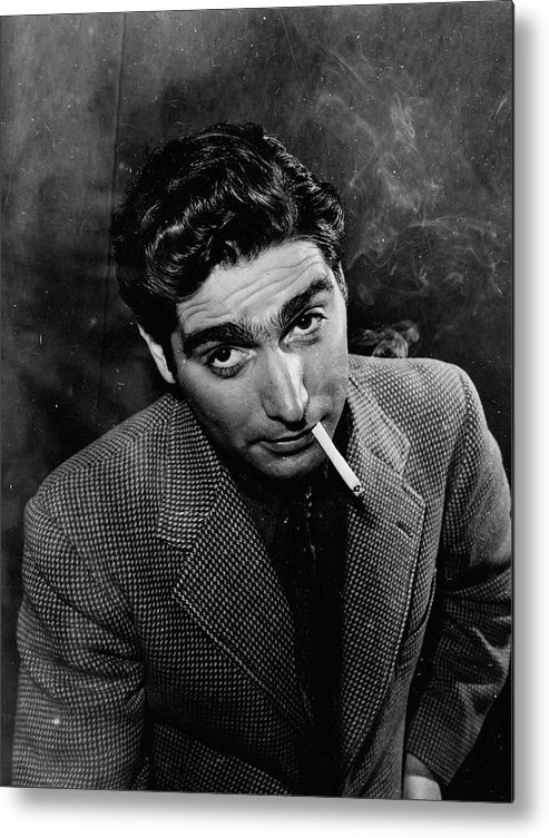 Timeincown Metal Print featuring the photograph Robert Capa by Alfred Eisenstaedt