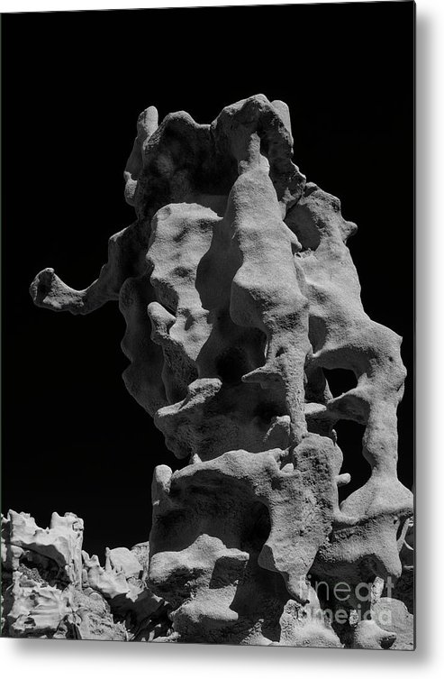 Fantasy Canyon Metal Print featuring the photograph Siltstone Curl by Mike Dawson