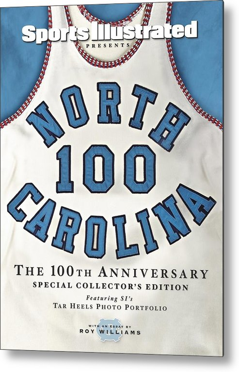 North Carolina Metal Print featuring the photograph University Of North Carolina Basketball Memorabilia Sports Illustrated Cover by Sports Illustrated