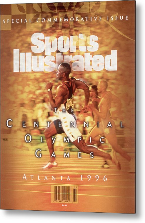 Atlanta Metal Print featuring the photograph Usa Michael Johnson, 1996 Summer Olympics Sports Illustrated Cover by Sports Illustrated