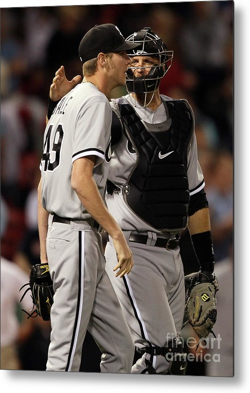 People Metal Print featuring the photograph Chris Sale by Elsa