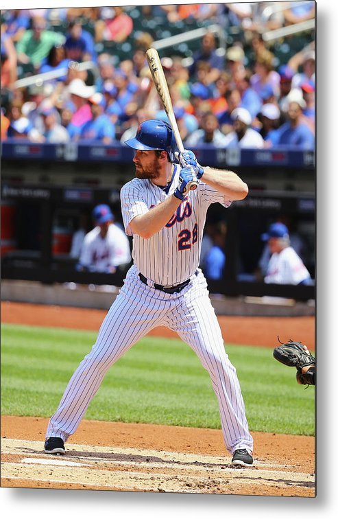 People Metal Print featuring the photograph Lucas Duda by Al Bello