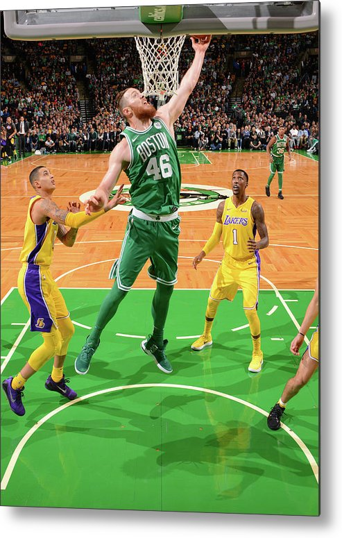 Nba Pro Basketball Metal Print featuring the photograph Aron Baynes by Jesse D. Garrabrant