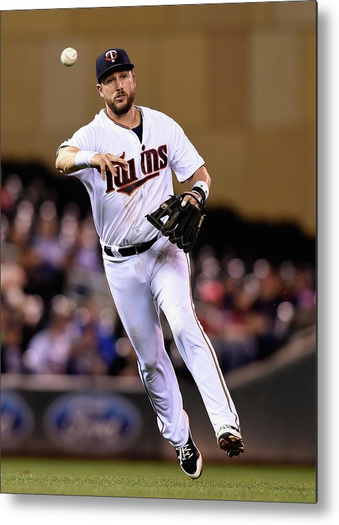 People Metal Print featuring the photograph Trevor Plouffe by Hannah Foslien