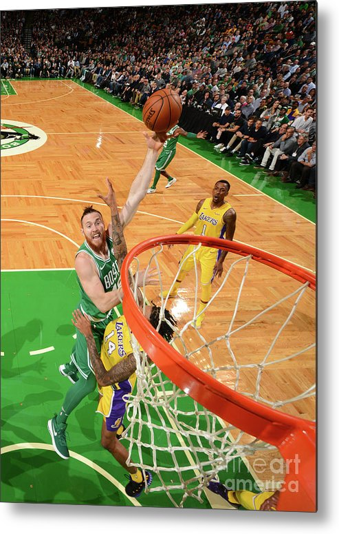 Nba Pro Basketball Metal Print featuring the photograph Aron Baynes by Jesse D. Garrabrant