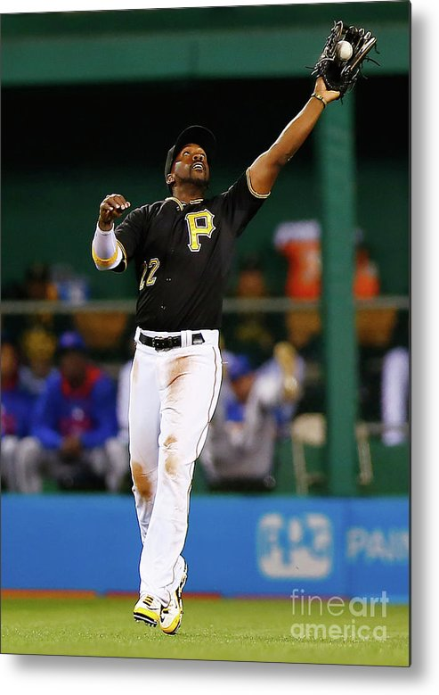 Second Inning Metal Print featuring the photograph Andrew Mccutchen by Jared Wickerham