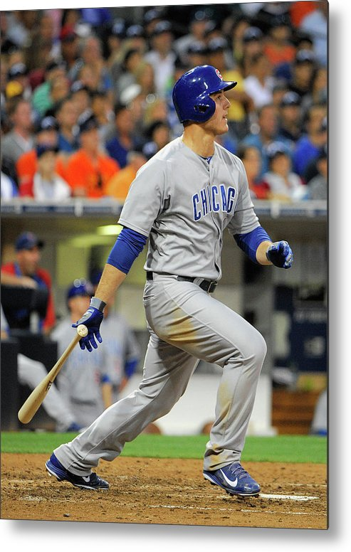 California Metal Print featuring the photograph Anthony Rizzo by Denis Poroy